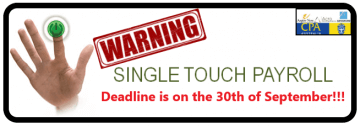 Single Touch Payroll Deadline this 30 September?